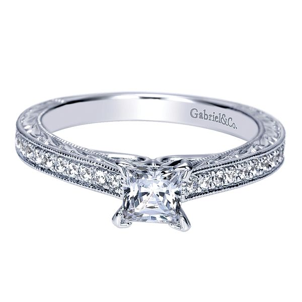 Diamond Engagement Ring David Scott Fine Jewelry Panama City Beach, FL
