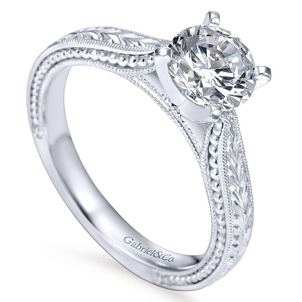 Diamond Engagement Ring Image 3 David Scott Fine Jewelry Panama City Beach, FL