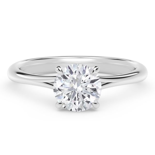 Forevermark Icon Setting Round Engagement Ring David Scott Fine Jewelry Panama City Beach, FL