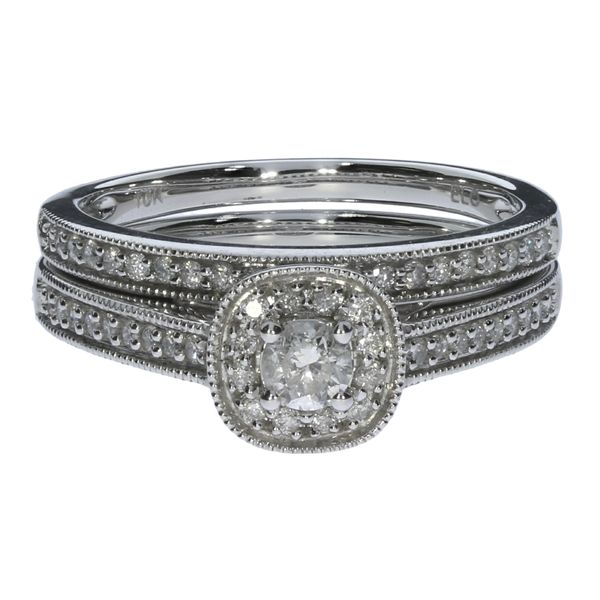 Diamond Wedding Set David Scott Fine Jewelry Panama City Beach, FL