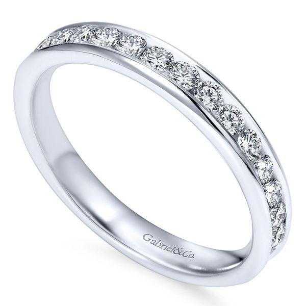 Women's Diamond Wedding Band Image 3 David Scott Fine Jewelry Panama City Beach, FL