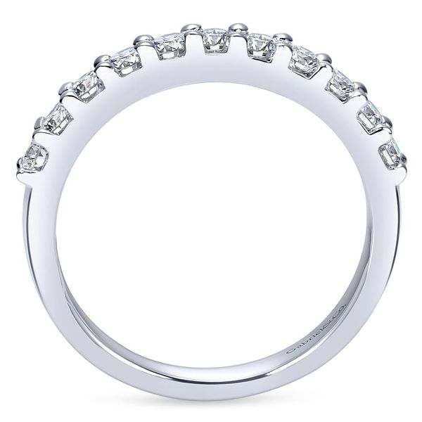 Gabriel & Co Women's Diamond Wedding Band Image 2 David Scott Fine Jewelry Panama City Beach, FL