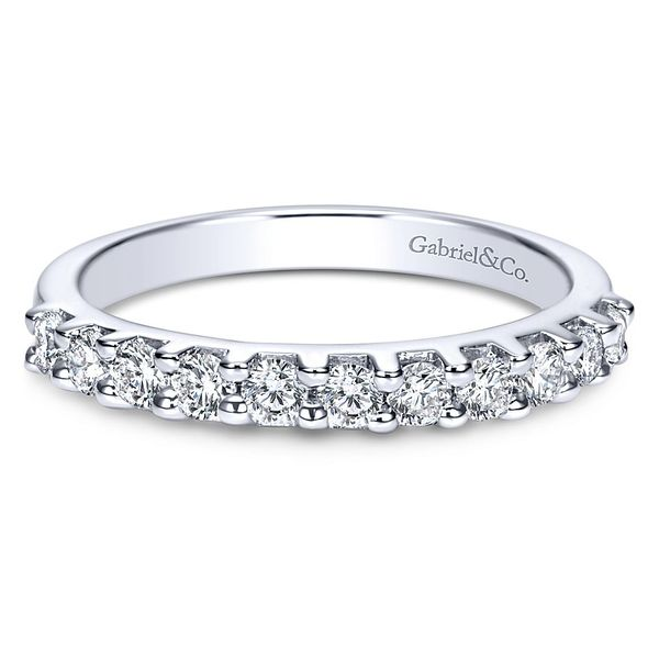 Gabriel & Co Women's Diamond Wedding Band David Scott Fine Jewelry Panama City Beach, FL