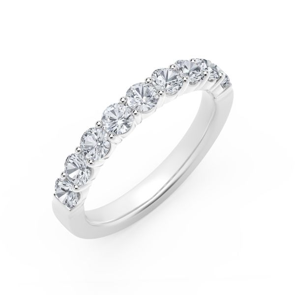 Forevermark Platinum Nine Diamond Band Image 2 David Scott Fine Jewelry Panama City Beach, FL