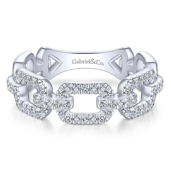 4d8732ef38fe5 Gabriel & Co. White Gold Stackable Band