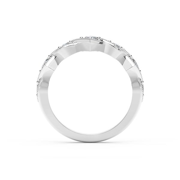 Forevermark Tribute Collection Detailed Diamond Ring Image 3  ,