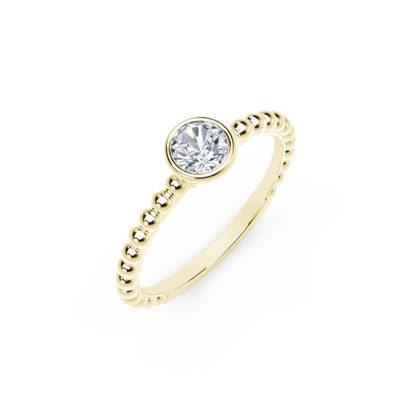 Forevermark Tribute Collection Diamond Stackable Ring Image 2 David Scott Fine Jewelry Panama City Beach, FL