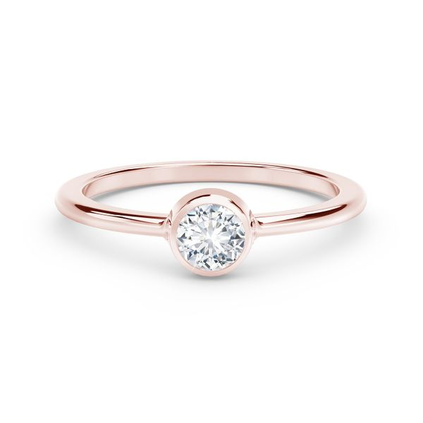 Forevermark Tribute Collection Classic Bezel Stackable Ring David Scott Fine Jewelry Panama City Beach, FL