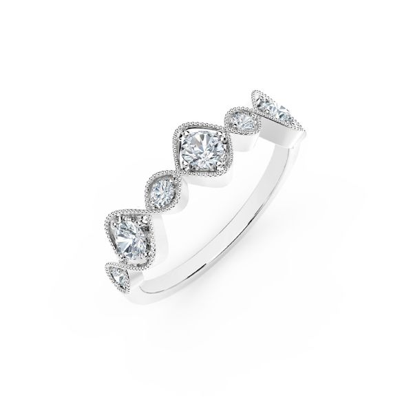 Forevermark Tribute Collection Vintage Stackable Ring Image 2 David Scott Fine Jewelry Panama City Beach, FL
