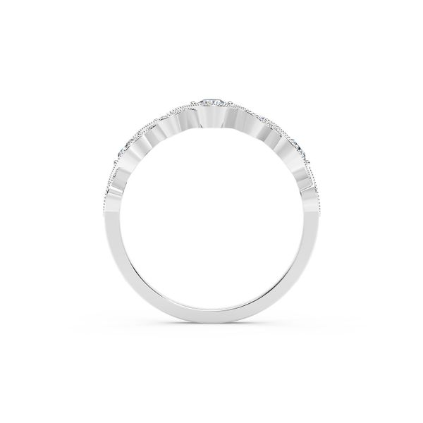 Forevermark Tribute Collection Vintage Stackable Ring Image 3 David Scott Fine Jewelry Panama City Beach, FL