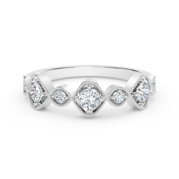 Forevermark Tribute Collection Vintage Stackable Ring David Scott Fine Jewelry Panama City Beach, FL