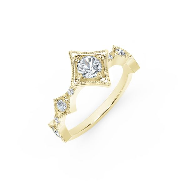 Forevermark Tribute Collection Modern Diamond Ring Image 2  ,