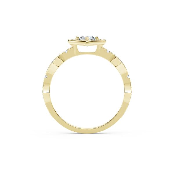 Forevermark Tribute Collection Modern Diamond Ring Image 3  ,