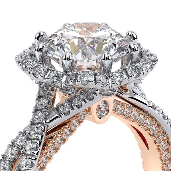 Verragio Couture Halo Engagement Ring Image 4 David Scott Fine Jewelry Panama City Beach, FL