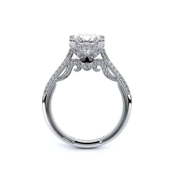 Verragio Venetian Collection White Gold Semi-Mount Engagement Ring Image 2 David Scott Fine Jewelry Panama City Beach, FL