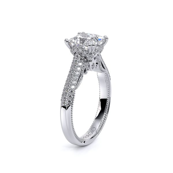 Verragio Venetian Collection White Gold Semi-Mount Engagement Ring Image 3 David Scott Fine Jewelry Panama City Beach, FL