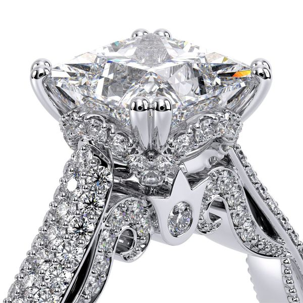 Verragio Venetian Collection White Gold Semi-Mount Engagement Ring Image 4 David Scott Fine Jewelry Panama City Beach, FL