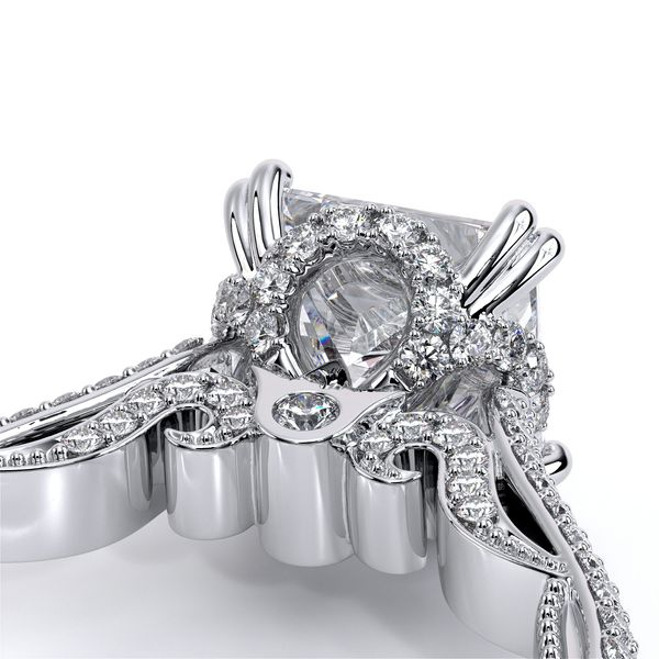 Verragio Venetian Collection White Gold Semi-Mount Engagement Ring Image 5 David Scott Fine Jewelry Panama City Beach, FL