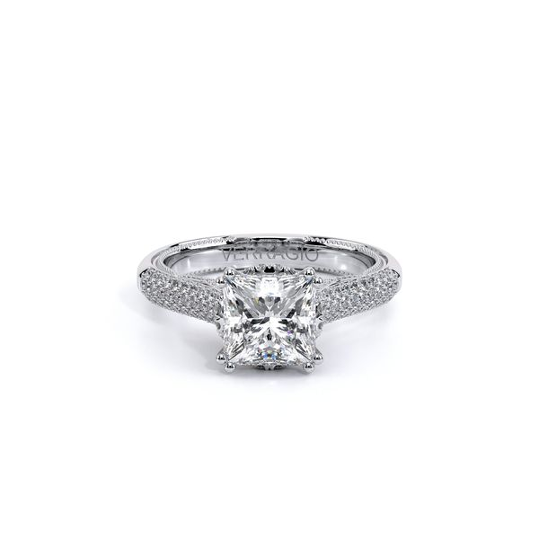 Verragio Venetian Collection White Gold Semi-Mount Engagement Ring David Scott Fine Jewelry Panama City Beach, FL