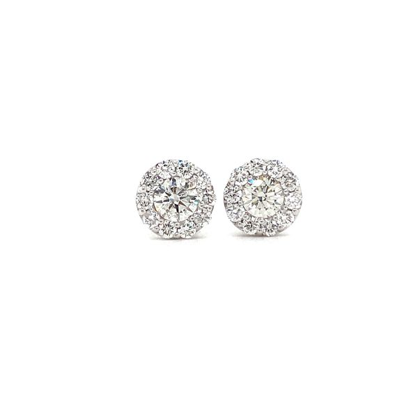 Diamond Earrings David Scott Fine Jewelry Panama City Beach, FL