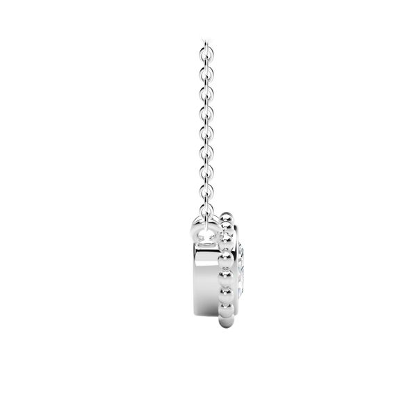 Forevermark Tribute Collection Round Beaded Pendant Image 2  ,