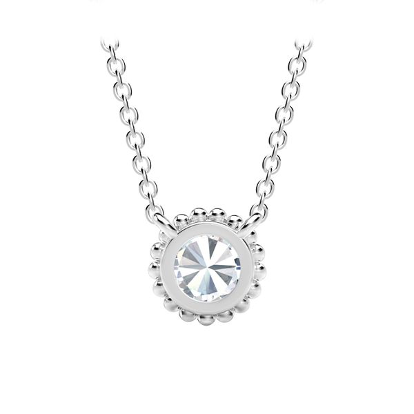 Forevermark Tribute Collection Round Beaded Pendant Image 3  ,