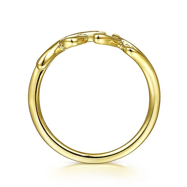 Gabriel & Co Yellow Gold Love Ring Image 2 David Scott Fine Jewelry Panama City Beach, FL