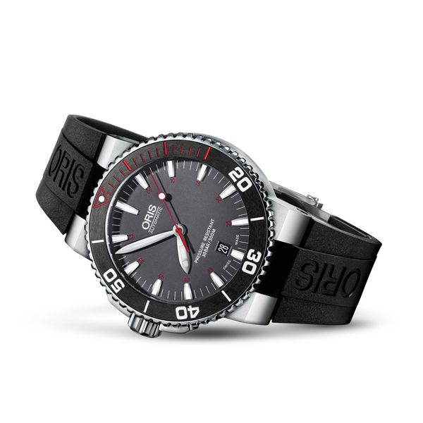 Oris Aquis Red Sea Limited Edition Image 2 David Scott Fine Jewelry Panama City Beach, FL