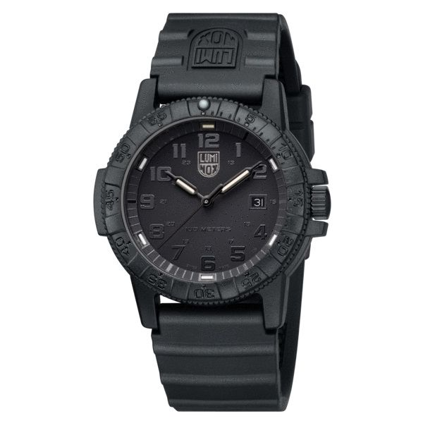 Luminox Leatherback SEA Turtle Giant Blackout Image 3 David Scott Fine Jewelry Panama City Beach, FL