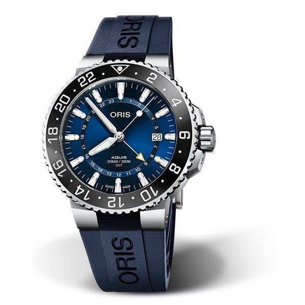 Oris Aquis GMT Date David Scott Fine Jewelry Panama City Beach, FL