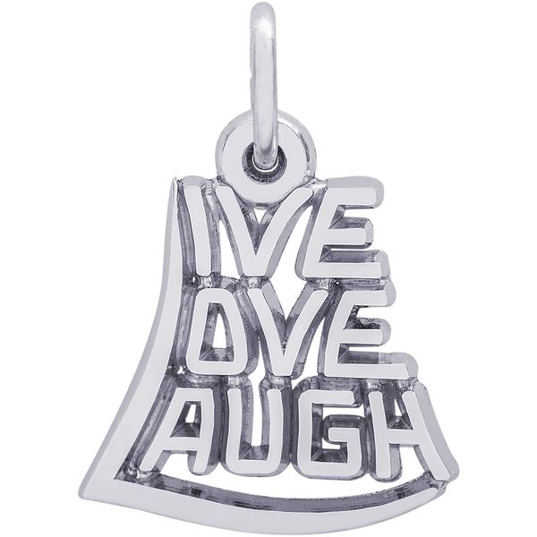 Rembrandt Live Laugh Love Charm David Scott Fine Jewelry Panama City Beach, FL