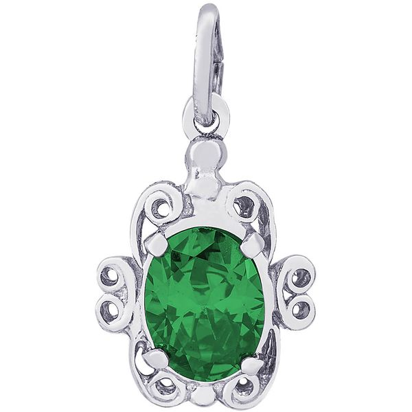 Rembrandt May Emerald Birthstone Charm David Scott Fine Jewelry Panama City Beach, FL