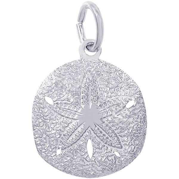 Rembrandt Sand Dollar Charm David Scott Fine Jewelry Panama City Beach, FL