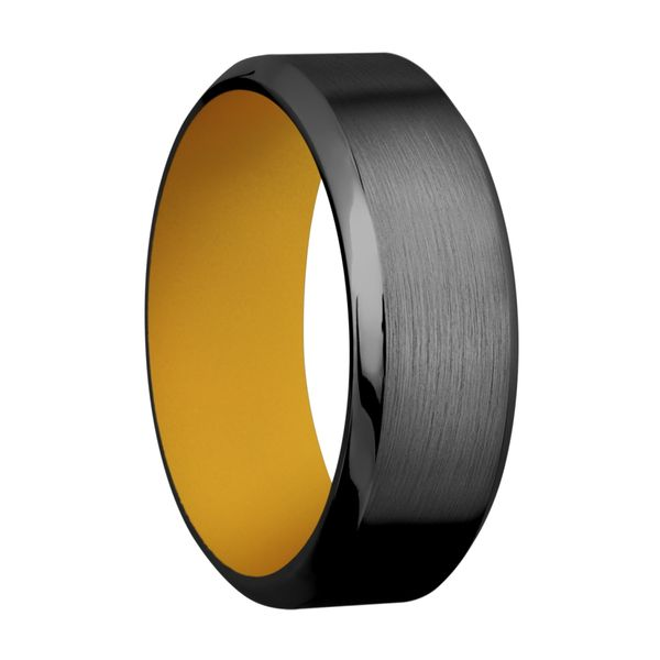 Lashbrook Black Zirconium Wedding Band Image 2 David Scott Fine Jewelry Panama City Beach, FL