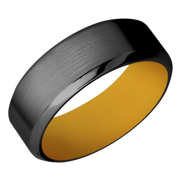 Lashbrook Black Zirconium Wedding Band David Scott Fine Jewelry Panama City Beach, FL