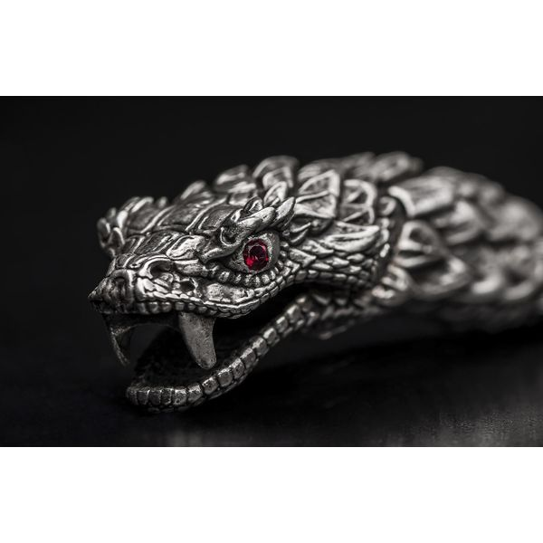 "William Henry ""Full Circle"" Rattlesnake Bracelet Image 3  ,"