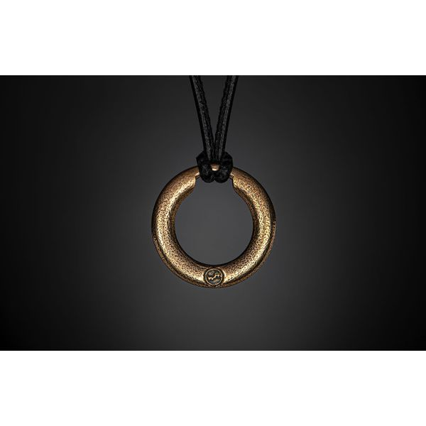 William Henry 'Bronze Orbit' Eyeglass Pendant Image 2 David Scott Fine Jewelry Panama City Beach, FL