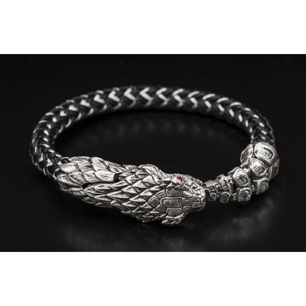 "William Henry ""Full Circle"" Rattlesnake Bracelet David Scott Fine Jewelry Panama City Beach, FL"