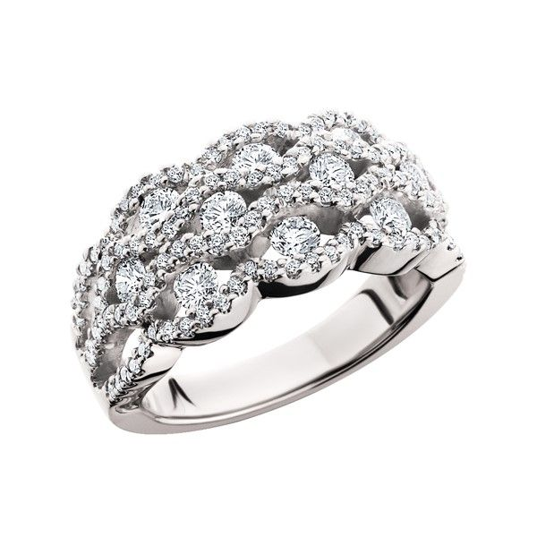 14k White Gold Diamond Ring Dickinson Jewelers Dunkirk, MD