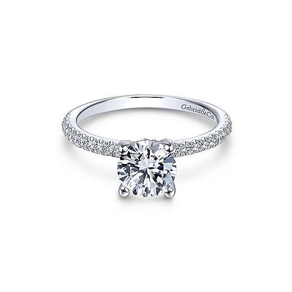Gabriel & Co. Engagement Ring Mounting Dickinson Jewelers Dunkirk, MD