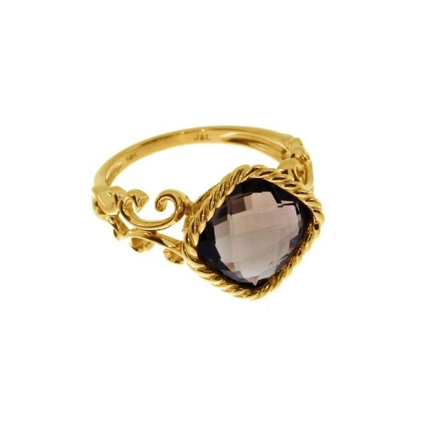 14k Yellow Gold Garnet Ring Dickinson Jewelers Dunkirk, MD