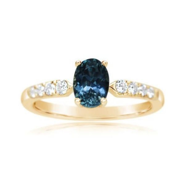 14k Yellow Gold Sapphire Ring Dickinson Jewelers Dunkirk, MD