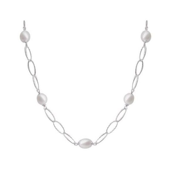 Sterling Silver Pearl Necklace Dickinson Jewelers Dunkirk, MD