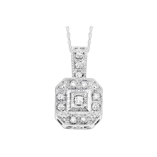 Sterling Silver Diamond Pendant Dickinson Jewelers Dunkirk, MD