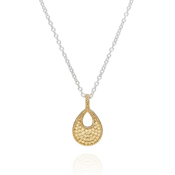 Small Open Drop Pendant Necklace Dickinson Jewelers Dunkirk, MD