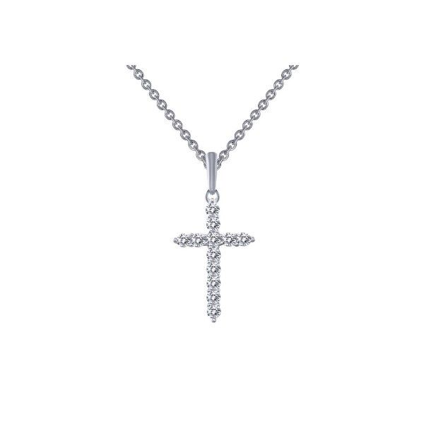 Lassaire Simulated Diamond Cross Pendant Dickinson Jewelers Dunkirk, MD