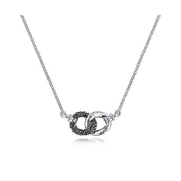 Sterling Silver Black Spinel Necklace Dickinson Jewelers Dunkirk, MD