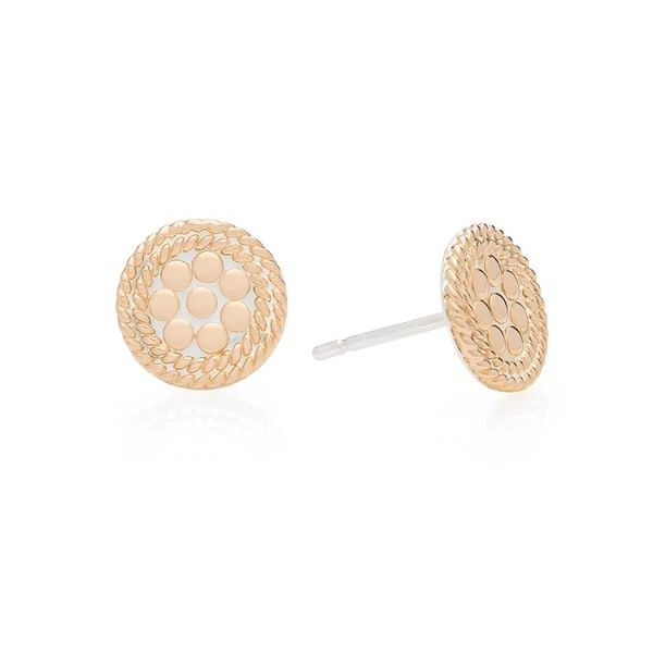 Mini Circle Post Earrings Dickinson Jewelers Dunkirk, MD