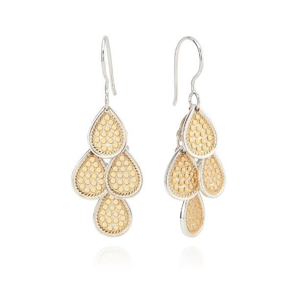 Dotted Chandelier Dangle Earrings Dickinson Jewelers Dunkirk, MD