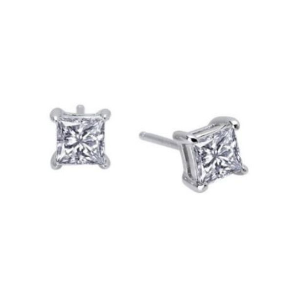 Lassaire Simulated Diamond Stud Earrings Dickinson Jewelers Dunkirk, MD